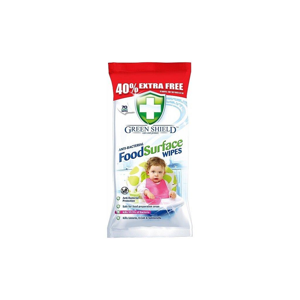 Ubrousky antibakteriální do domácnosti