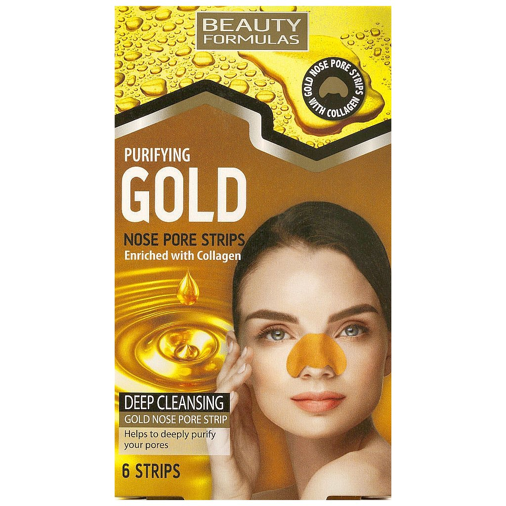 Beauty Formulas Purifying Gold