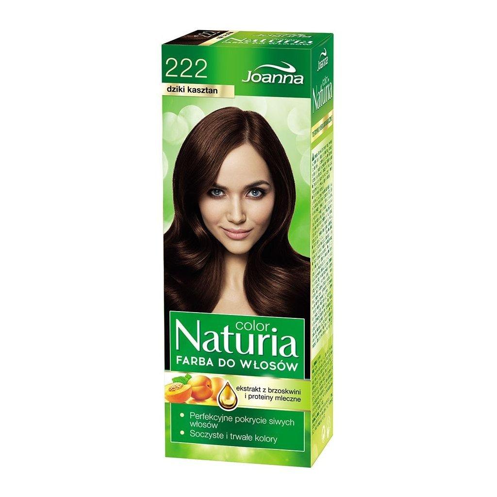 222 - Barva na vlasy NATURIA COLOR - KAŠTANOVÁ.