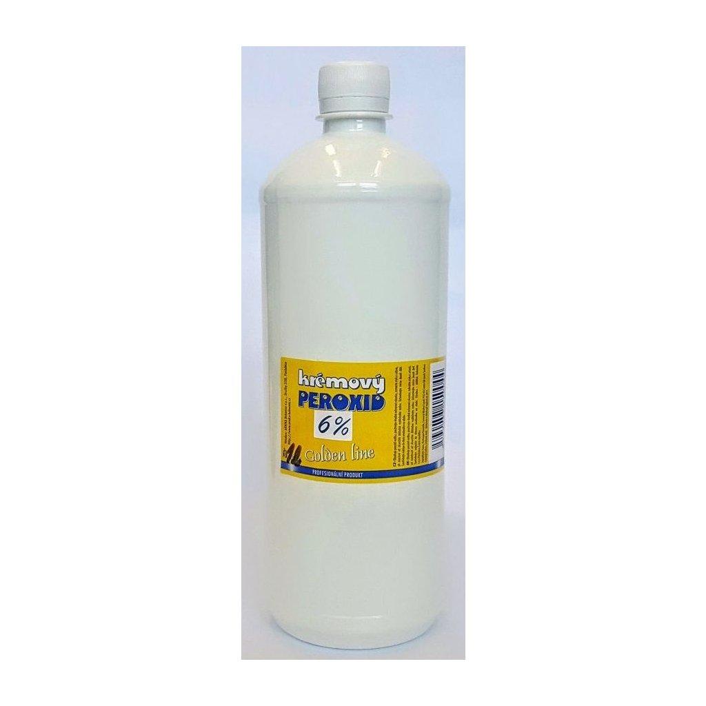 Krémový peroxid  Golden Line 6%, 1litr