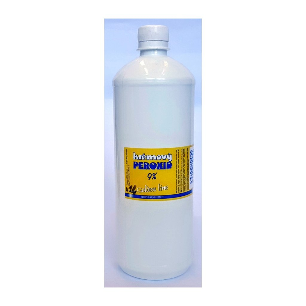 Krémový peroxid Golden Line 9%, 1 litr