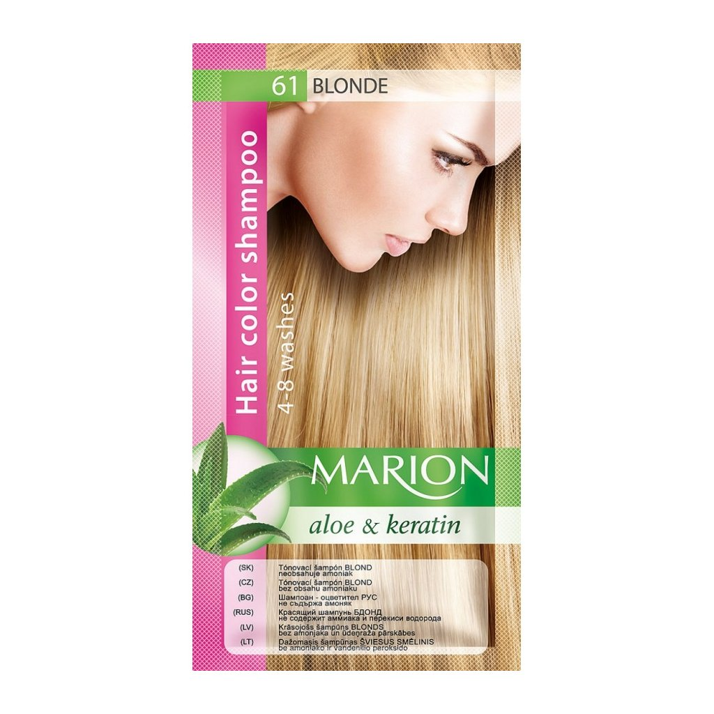 Tónovací šampon 61 BLOND MARION