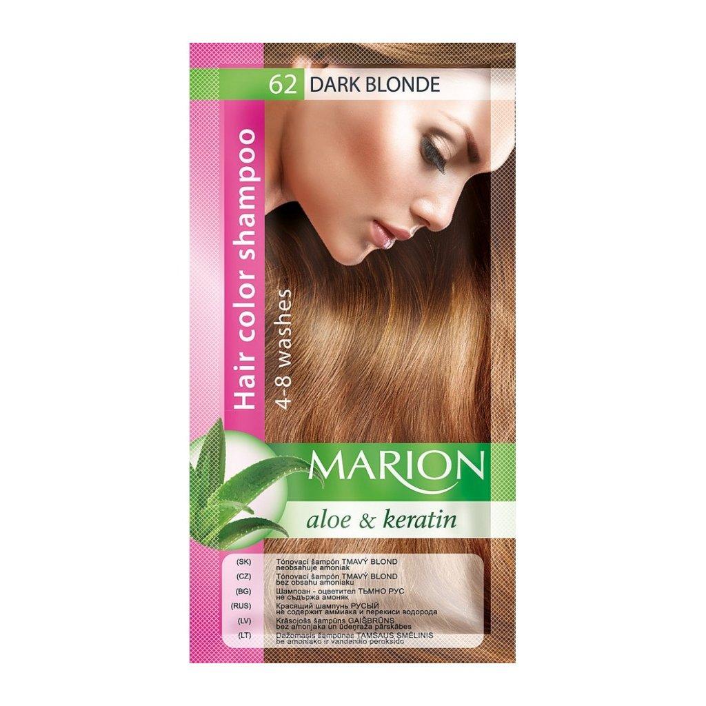 Tónovací šampon 62 TMAVÝ BLOND MARION