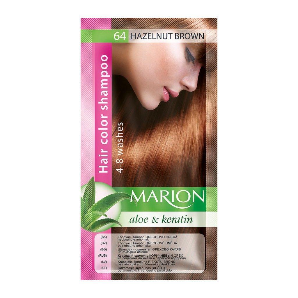 Tónovací šampon 64 OŘECHOVÁ MARION MARION