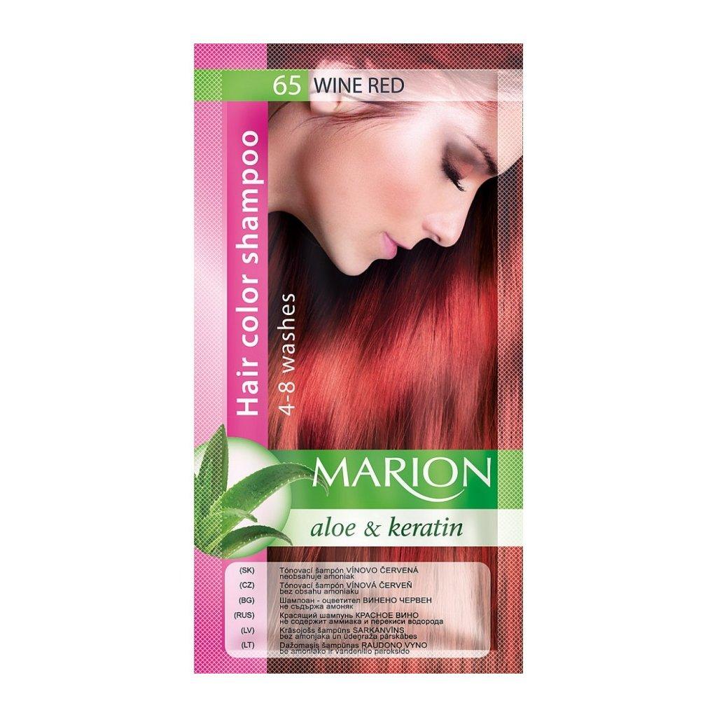 Tónovací šampon 65 VÍNOVÁ MARION