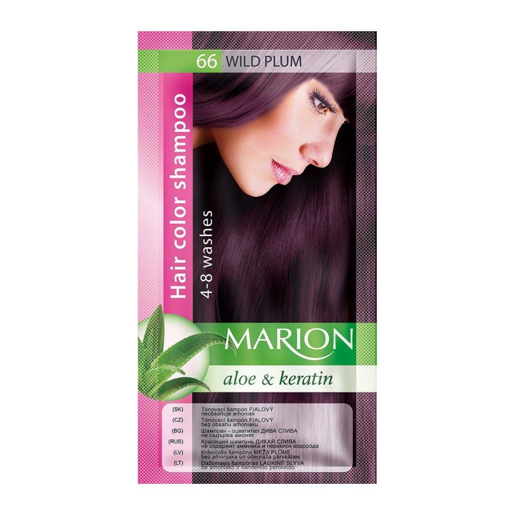 Tónovací šampon 66 FIALOVÁ MARION