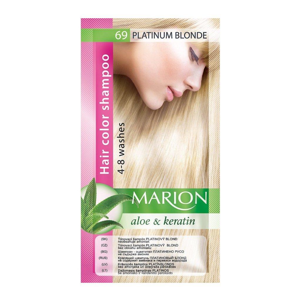 Tónovací šampon 69 PLATINUM MARION