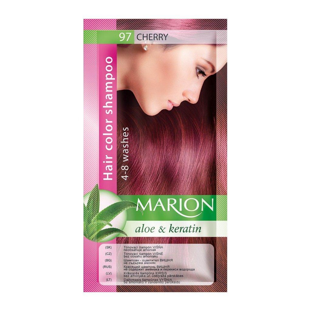 Tónovací šampon 97 VIŠNĚ MARION