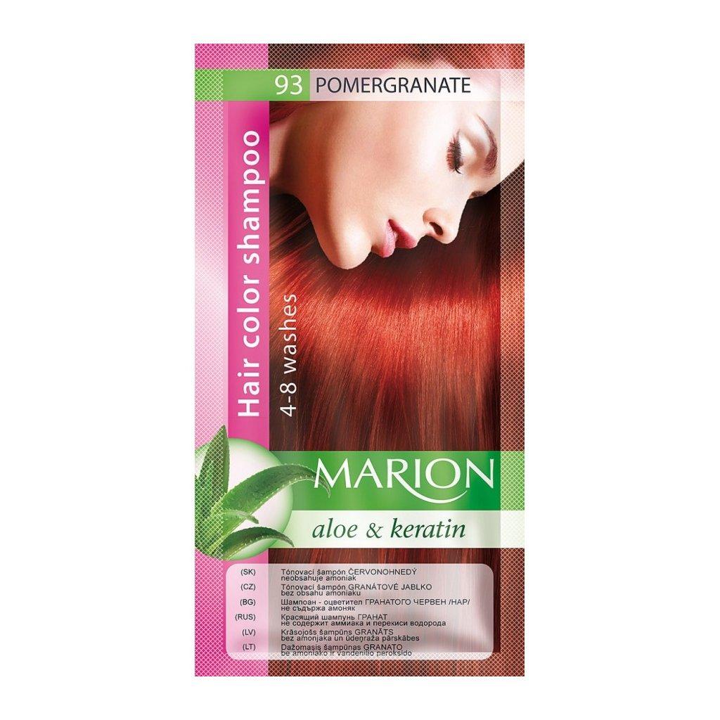 Tónovací šampon 93 GRANÁT MARION