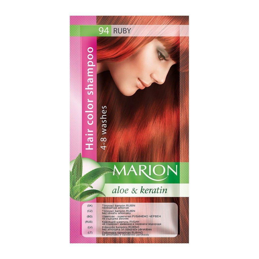 Tónovací šampon 94 RUBÍN MARION