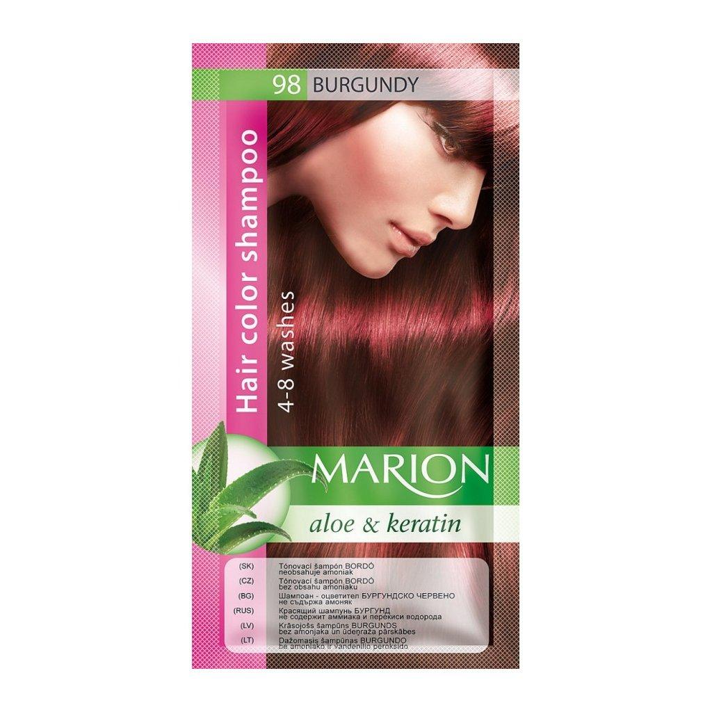 Tónovací šampon 98 BORDÓ MARION
