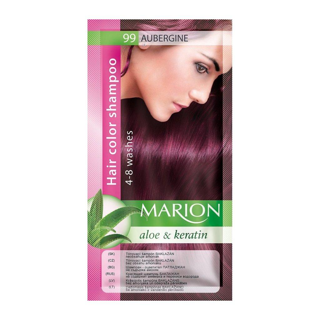 Tónovací šampon 99 BAKLAŽÁN MARION