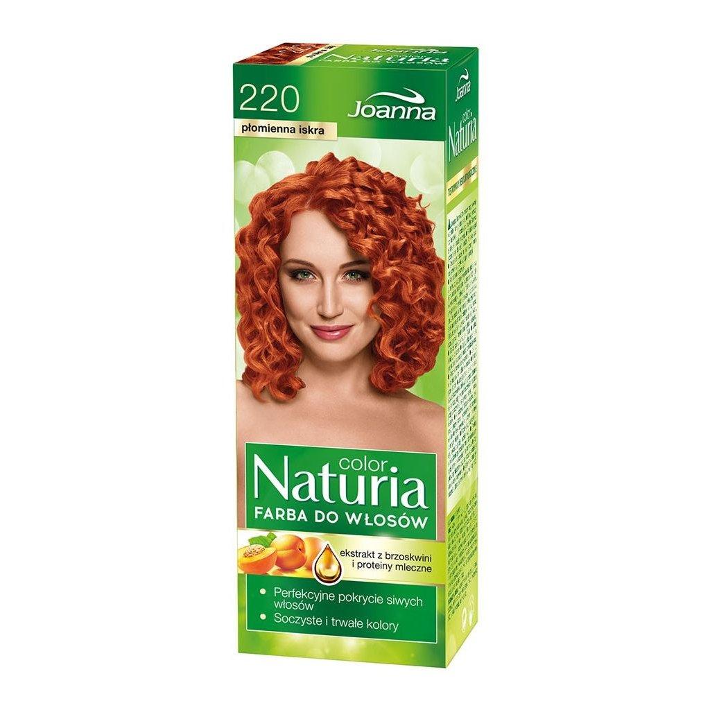 220 - Barva na vlasy NATURIA COLOR - OHNIVÁ JISKRA.