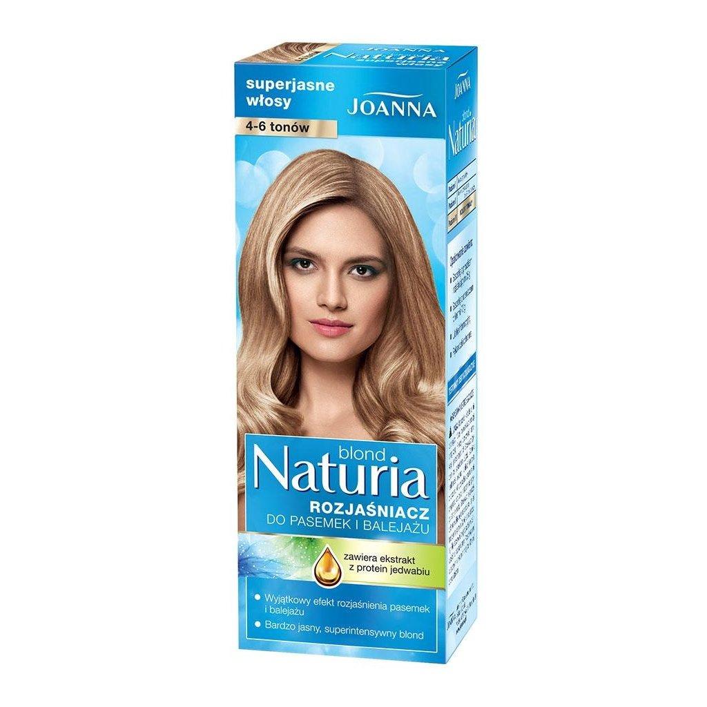 JOANNA Naturia Blond 4-6 tónů melír na vlasy
