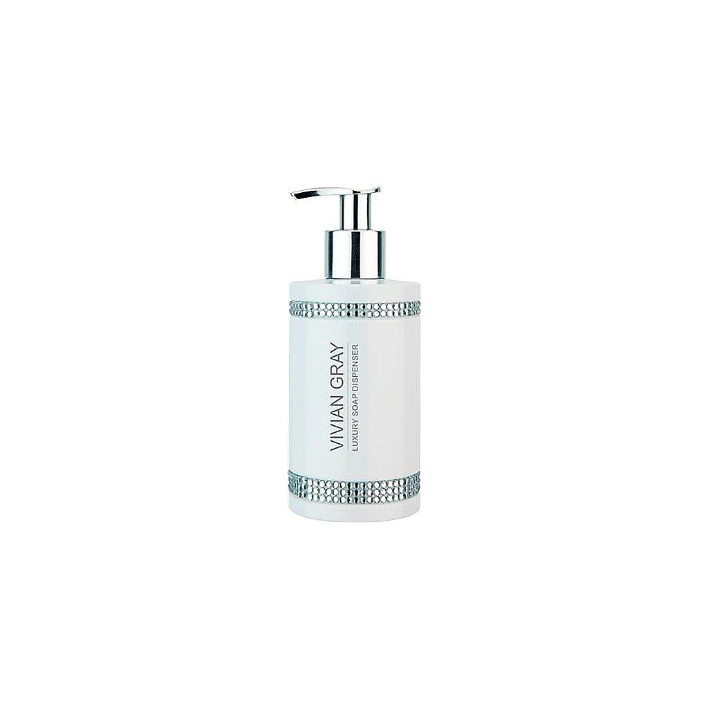 Luxusní tekuté mýdlo Vivian Gray Crystals White, 250ml