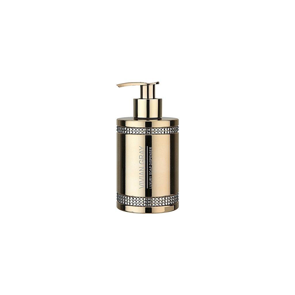 Vivian Gray luxusní tekuté mýdlo GOLDEN CRYSTAL 250ml