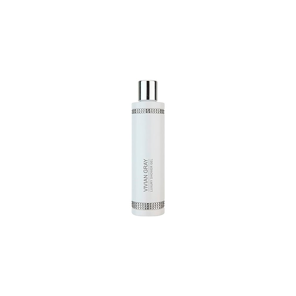 Luxusní sprchový gel Vivian Gray Crystals White, 250ml