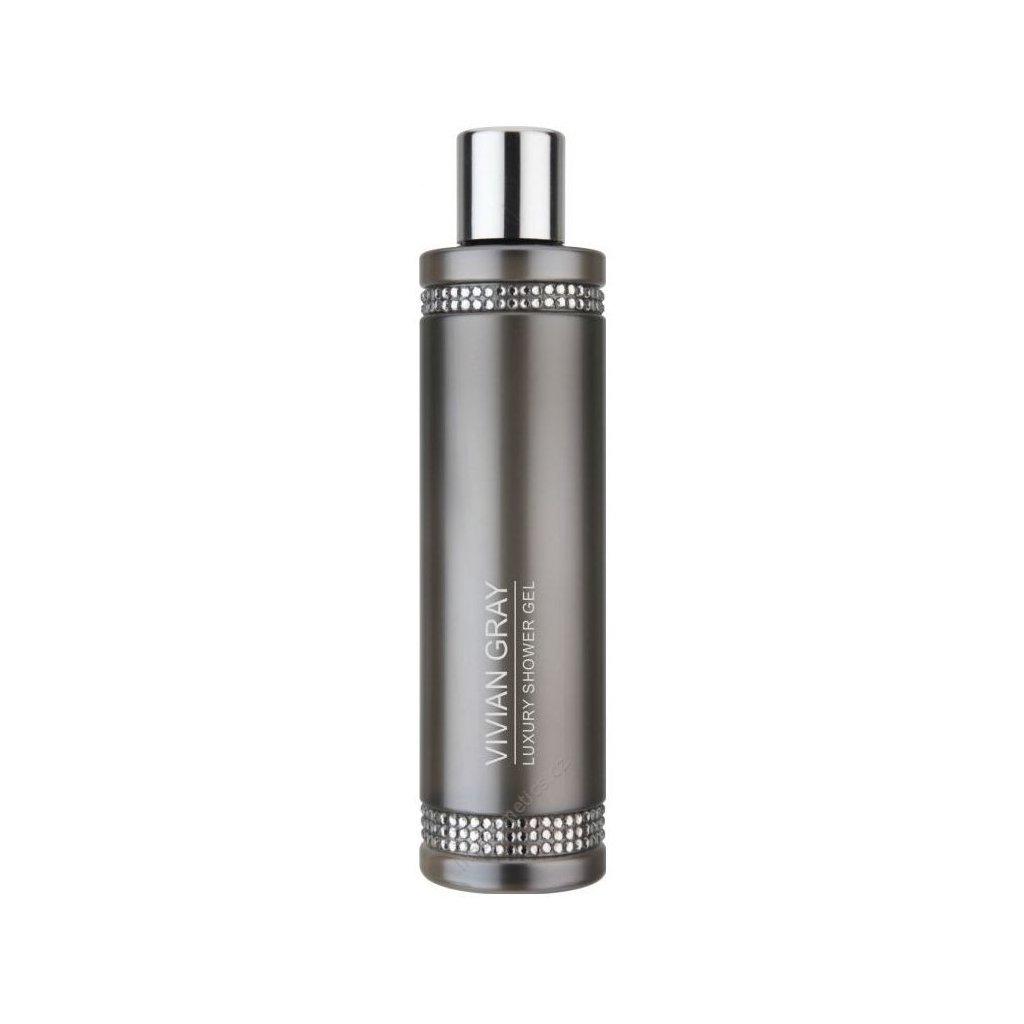 Vivian Gray luxusní sprchový gel CRYSTAL GREY 250ml