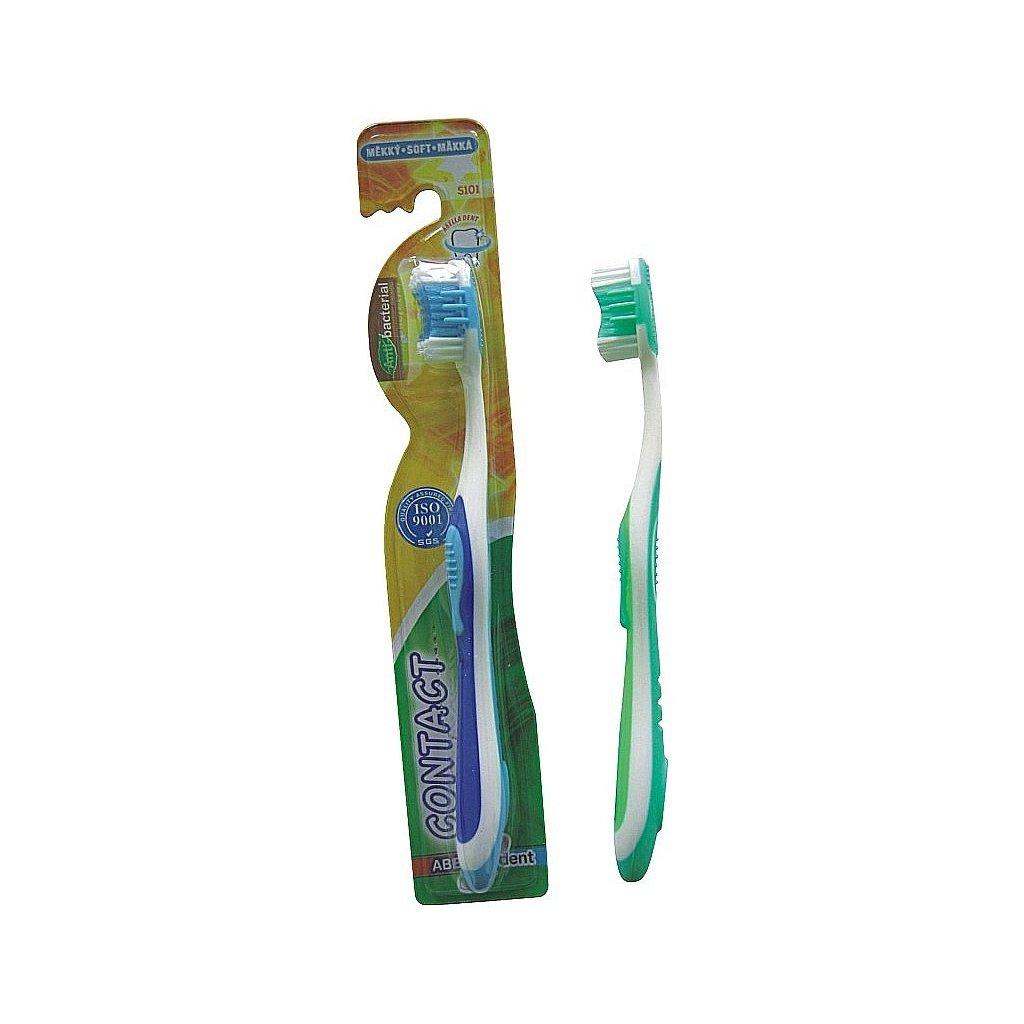 Zubní kartáček CONTACT měkký
