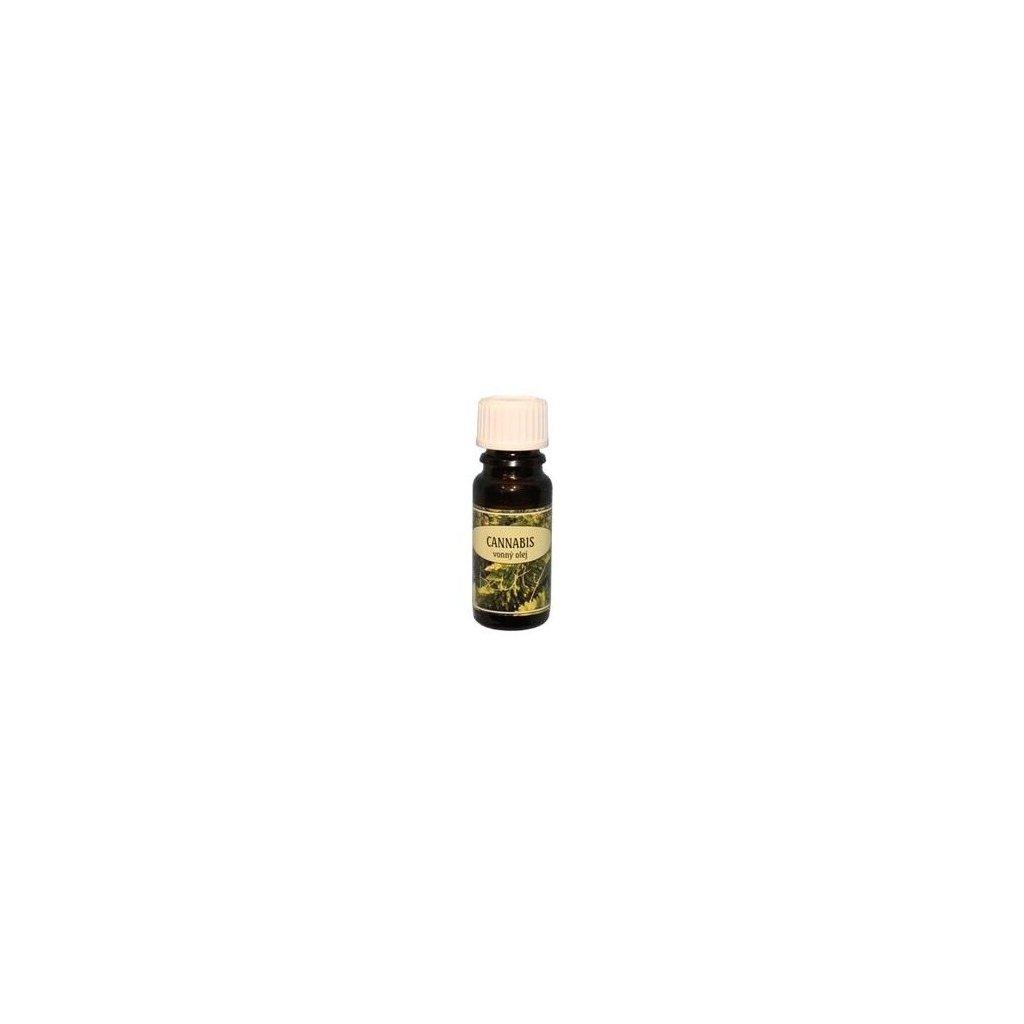 Vonný olej 10ml CANNABIS
