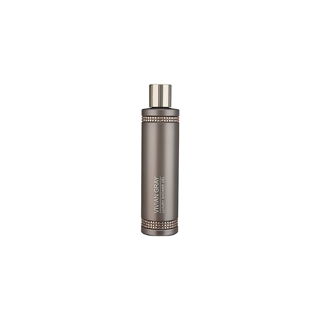 Vivian Gray luxusní sprchový gel CRYSTAL BROWN 250ml