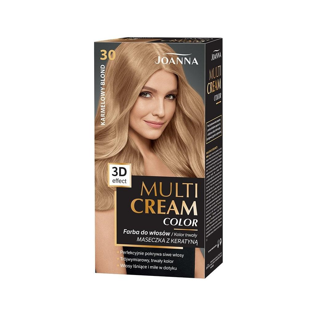 MULTI CREAM Č.30 - KARAMELOVÝ BLOND