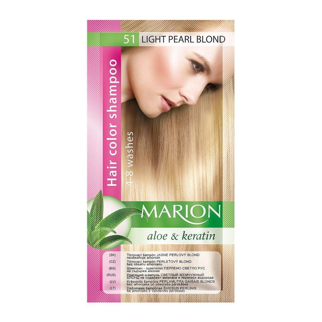 Tónovací šampon 51 PERLEŤOVÝ BLOND MARION