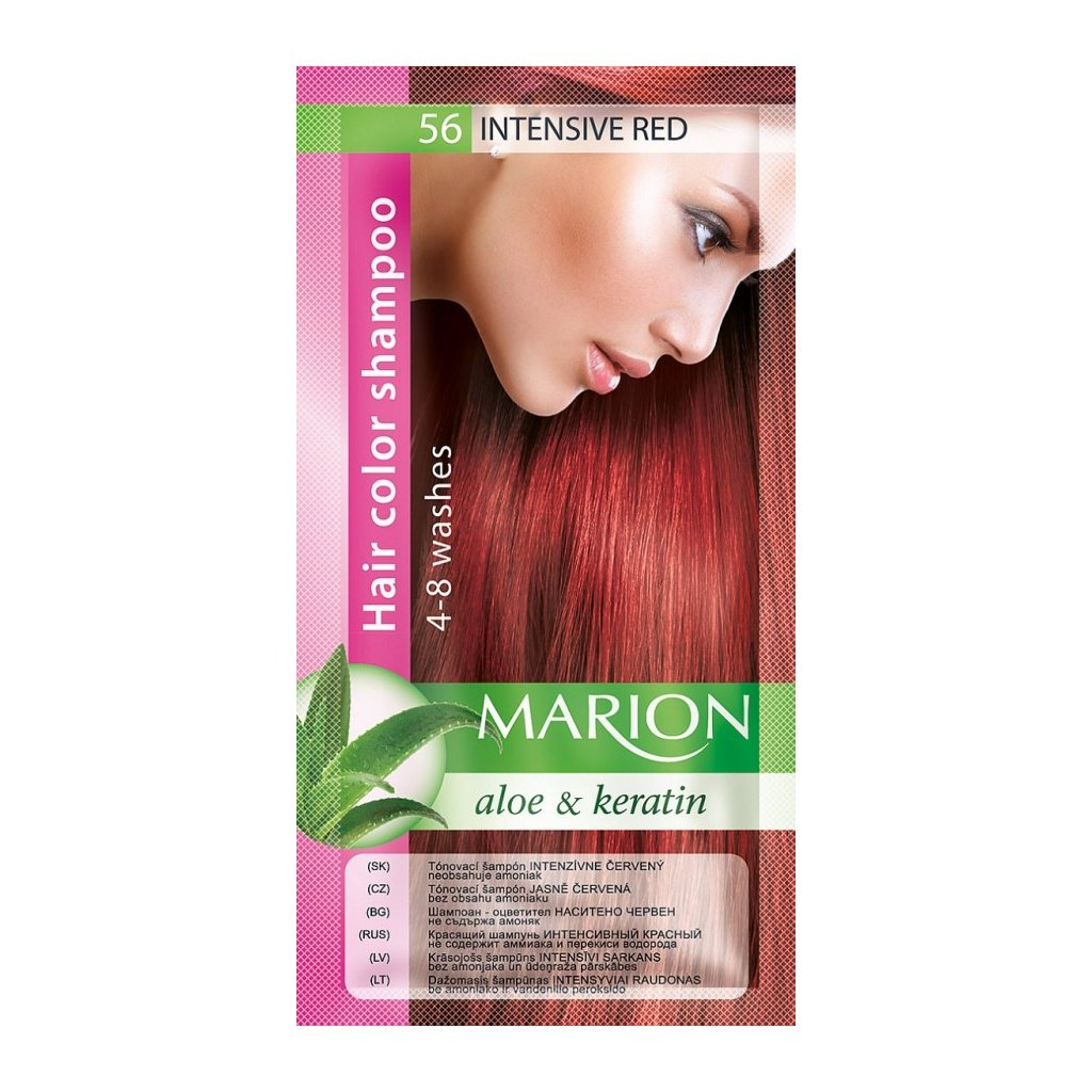 Tónovací šampon 56 JASNĚ ČERVENÁ MARION