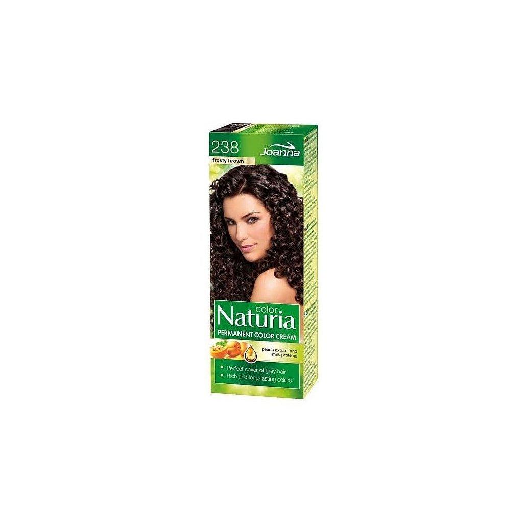 238 - Barva na vlasy NATURIA COLOR - MRAZIVÁ HNĚDÁ