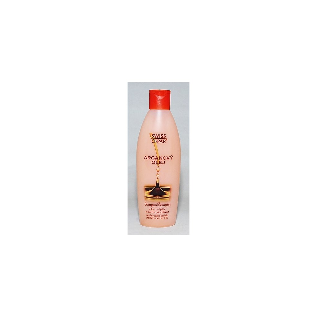 SWISS O PAR Šampon s arganovým olejem, 250ml.