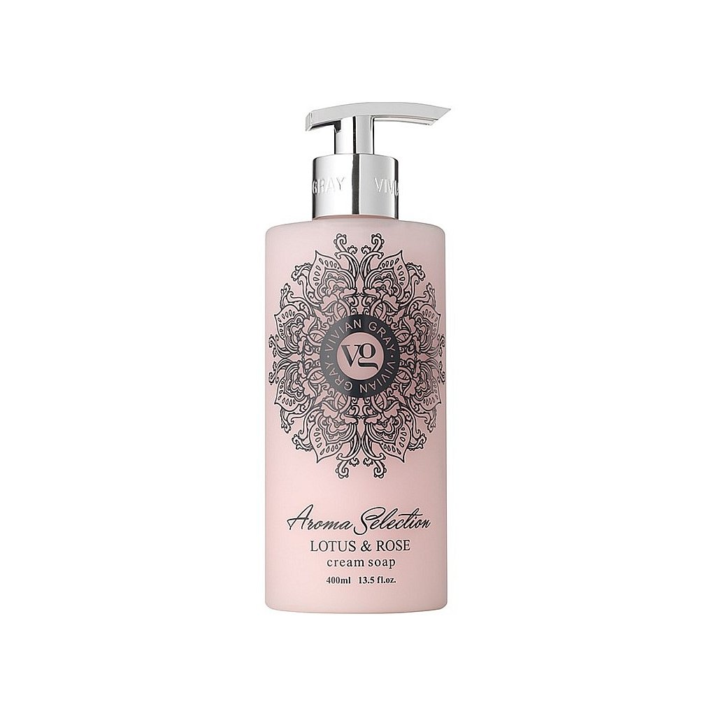 Tekuté mýdlo Aroma Selection Lotos a Růže, 400ml