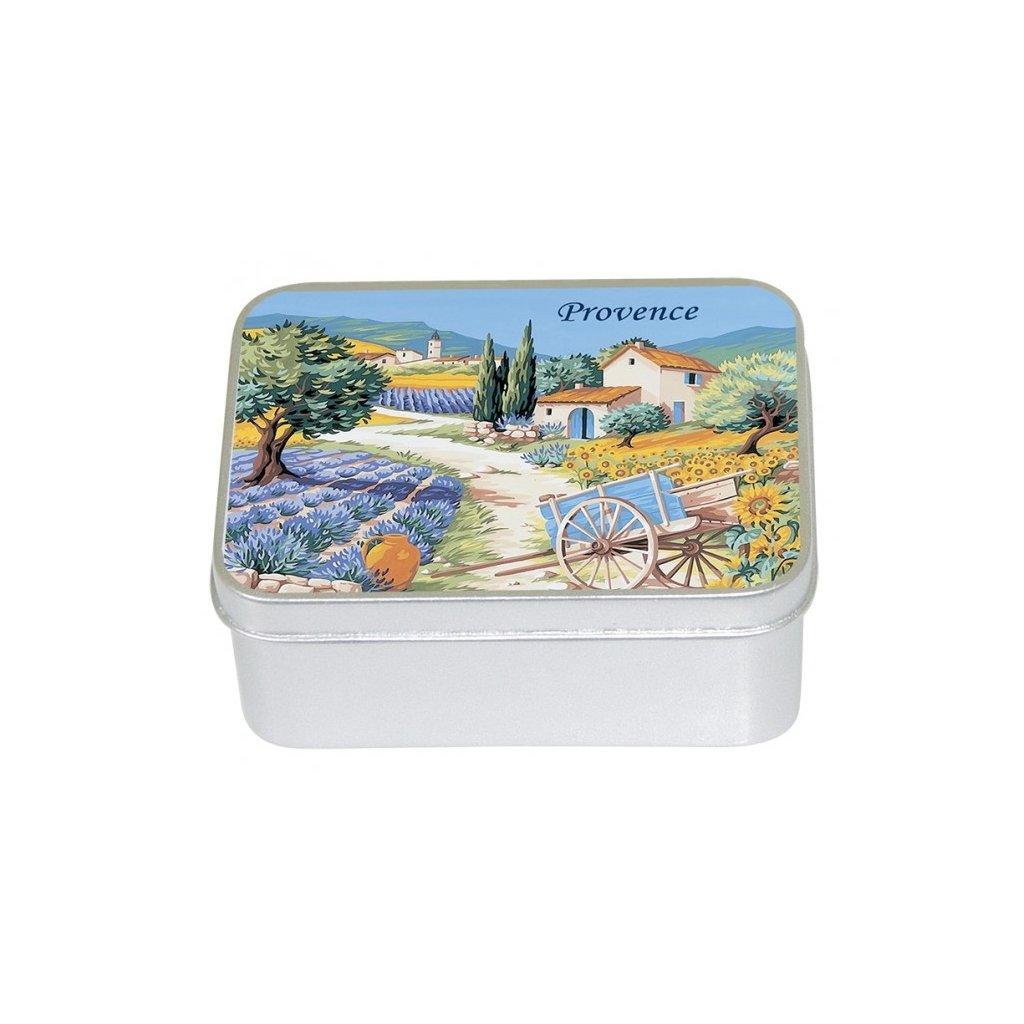 boite metal savon 100g provence 2 lavande p image 29932 grande