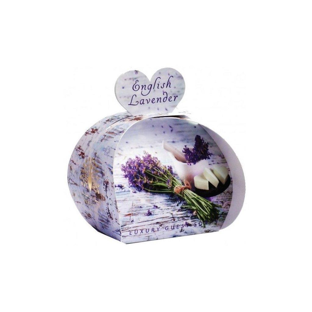 Anglické mýdlo Levandule, 3x20g