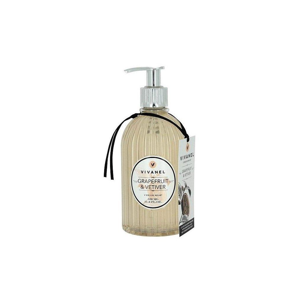 Tekuté mýdlo VIVANEL Grapefruit a Vetiver, 350ml