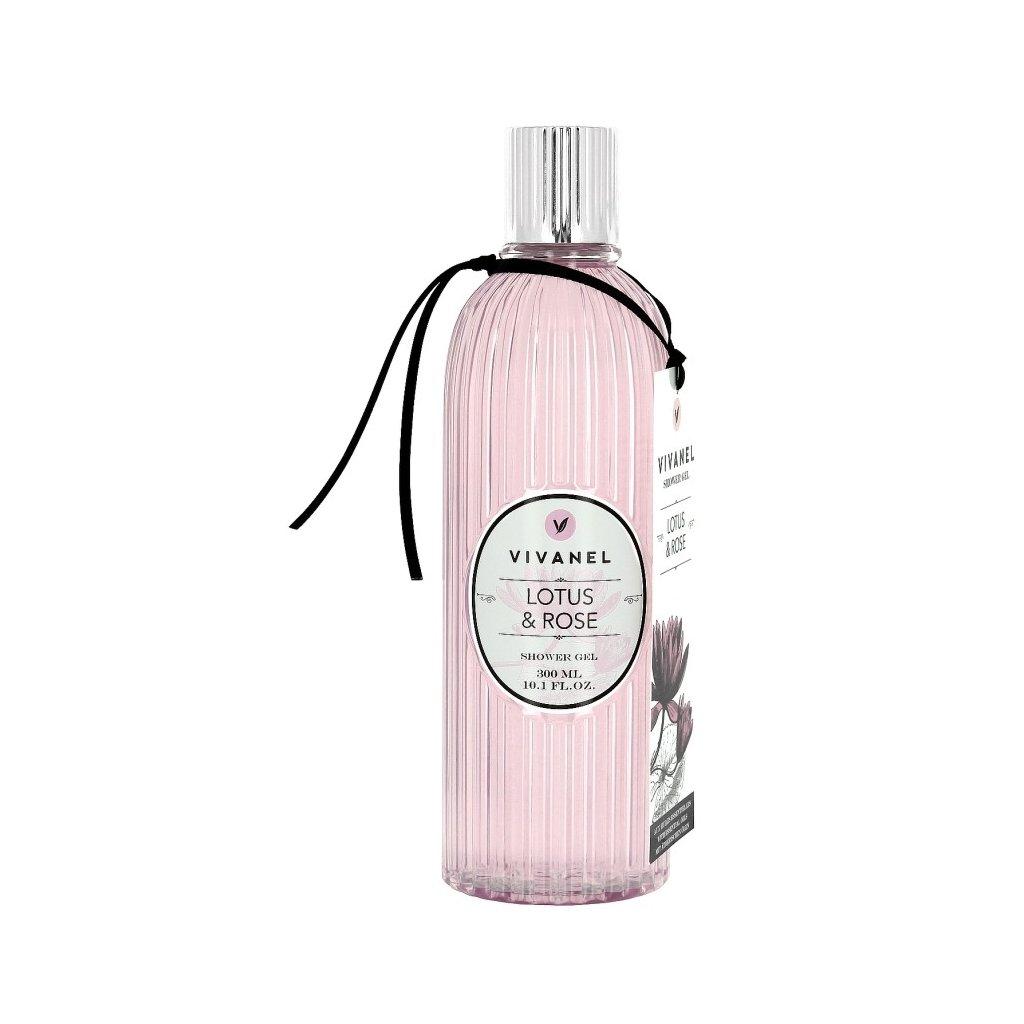 Sprchový gel VIVANEL Lotos a Růže, 300ml