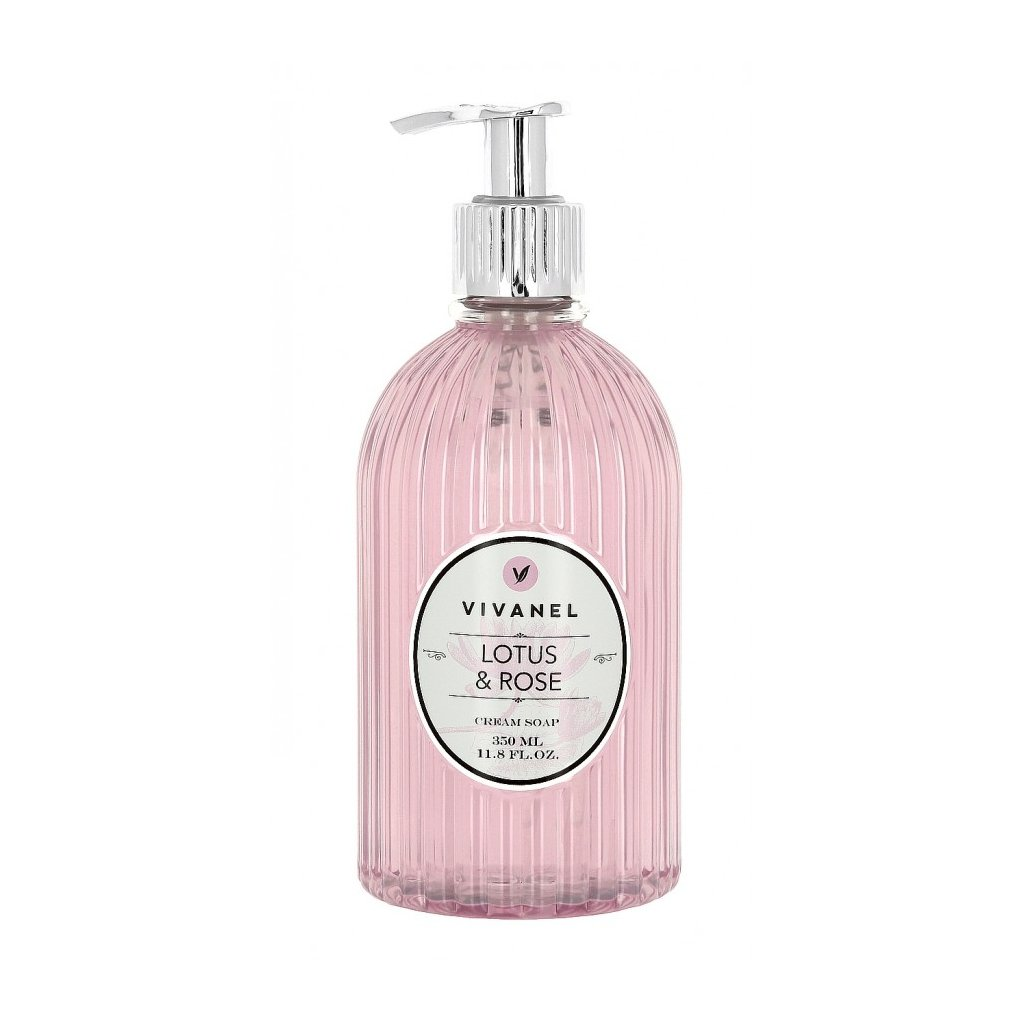 Tekuté mýdlo VIVANEL Lotos a Růže, 350ml