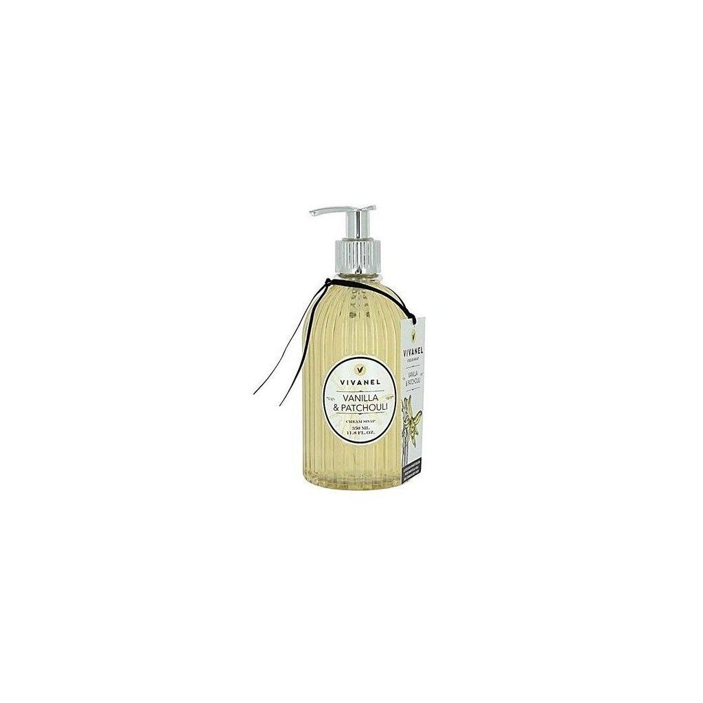 Tekuté mýdlo VIVANEL Vanilka a Patchouli, 350ml