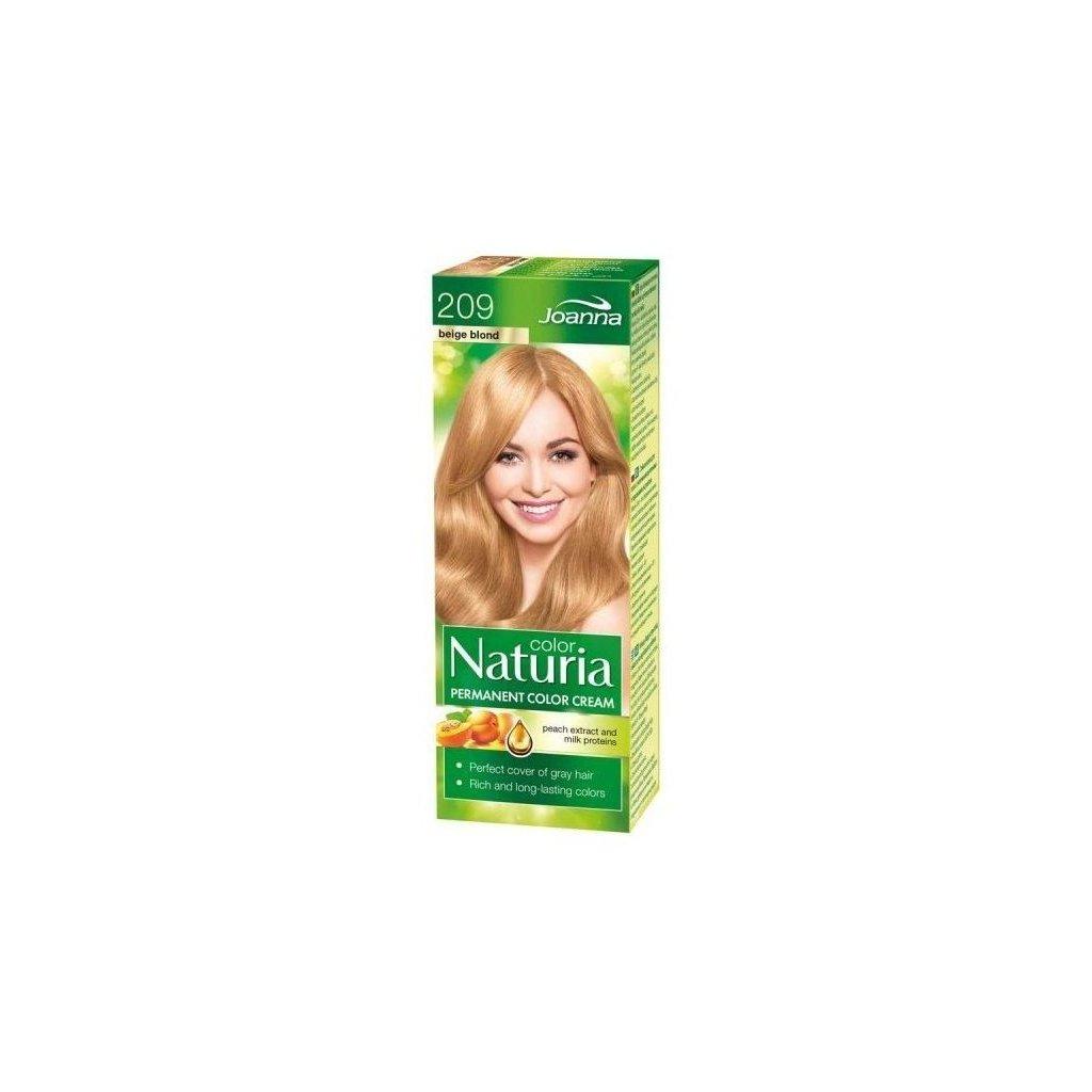 Naturia color č.209-Béžový blond
