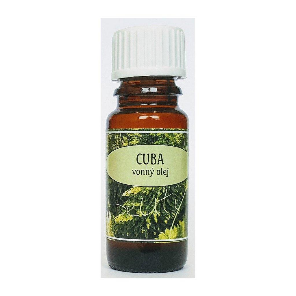 Vonný olej 10ml CUBA