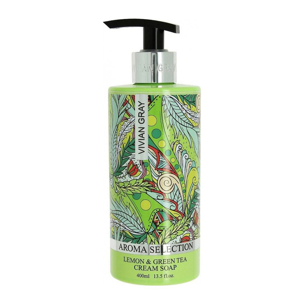 Tekuté mýdlo Aroma Selection Vivian Gray Citrón a Zelený čaj, 400ml