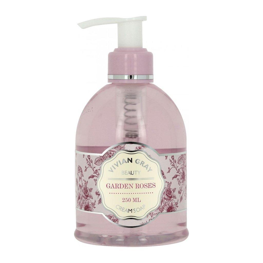 Tekuté mýdlo Garden Roses Vivian Gray Růže, 250ml