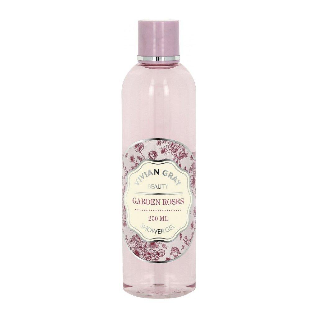Sprchový gel Garden Roses Vivian Gray Růže, 250ml