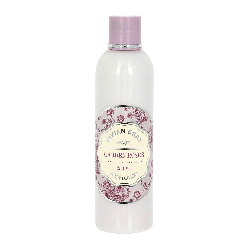 Tělové mléko Garden Roses Vivan Gray Růže, 250ml