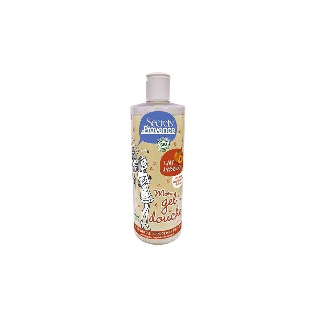 BIO Sprchový gel a Pěna do koupele Mléko z meruňky, 500ml