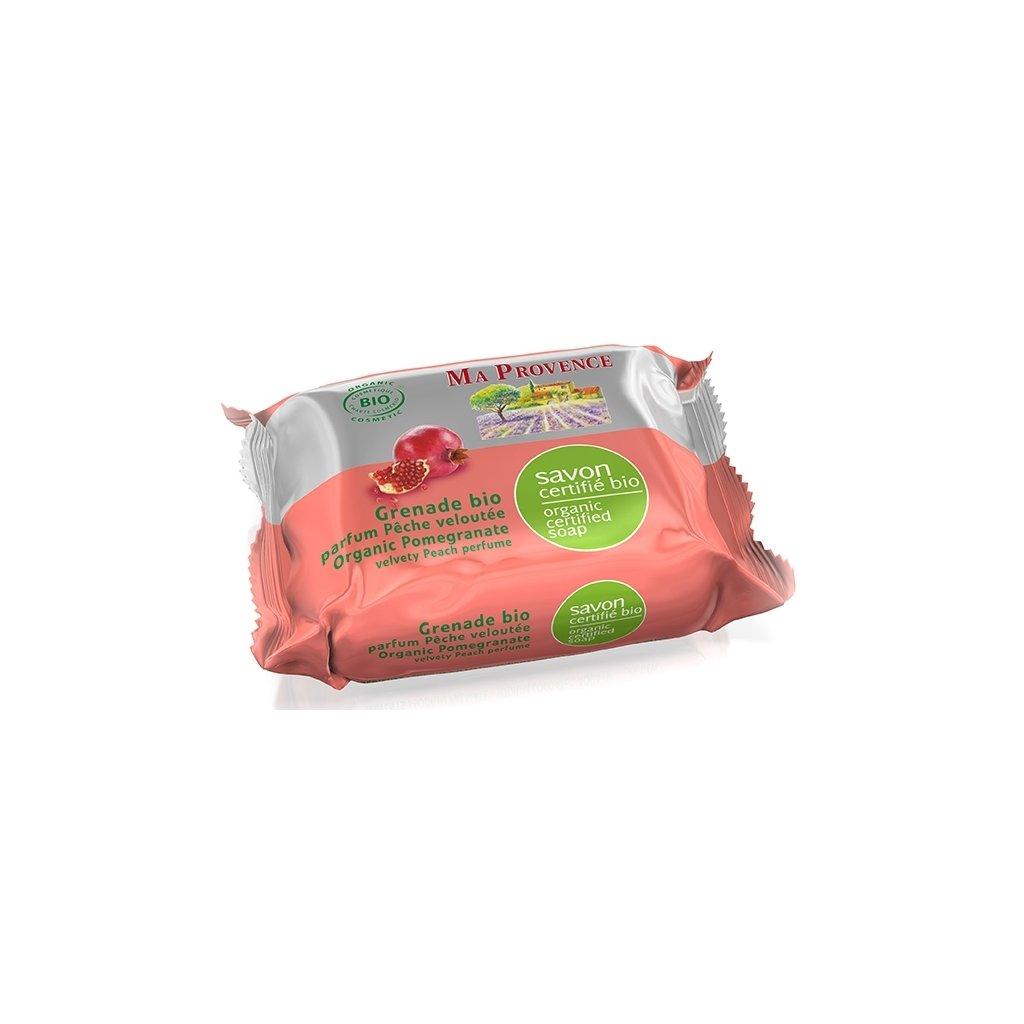 BIO přírodní mýdlo Granát. jablko, 75g Ma Provence