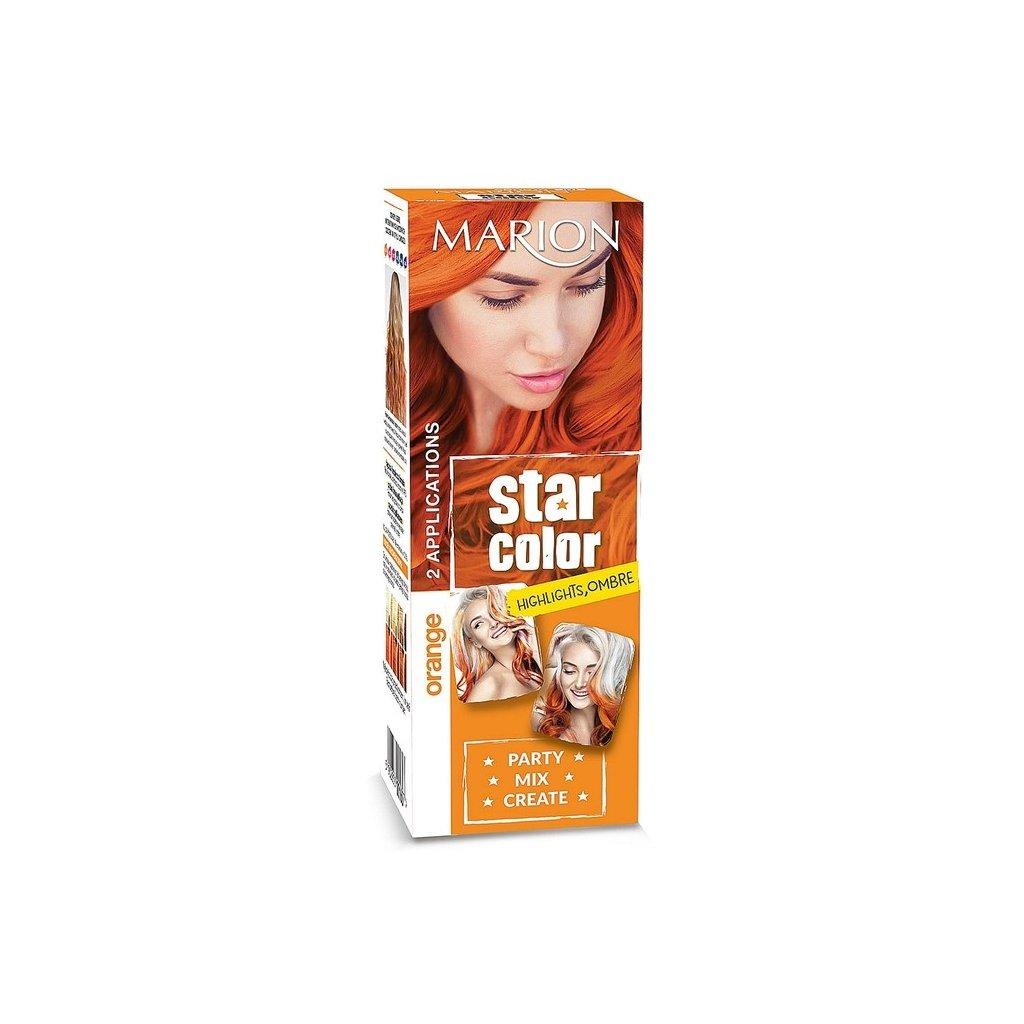 Barva na vlasy MARION STAR COLOR Oranžová