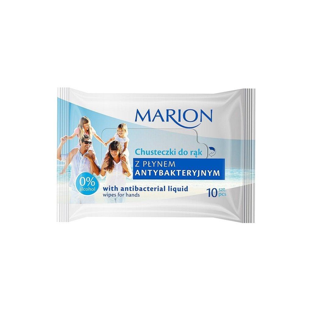 MARION antibakteriální ubrousky, 10ks