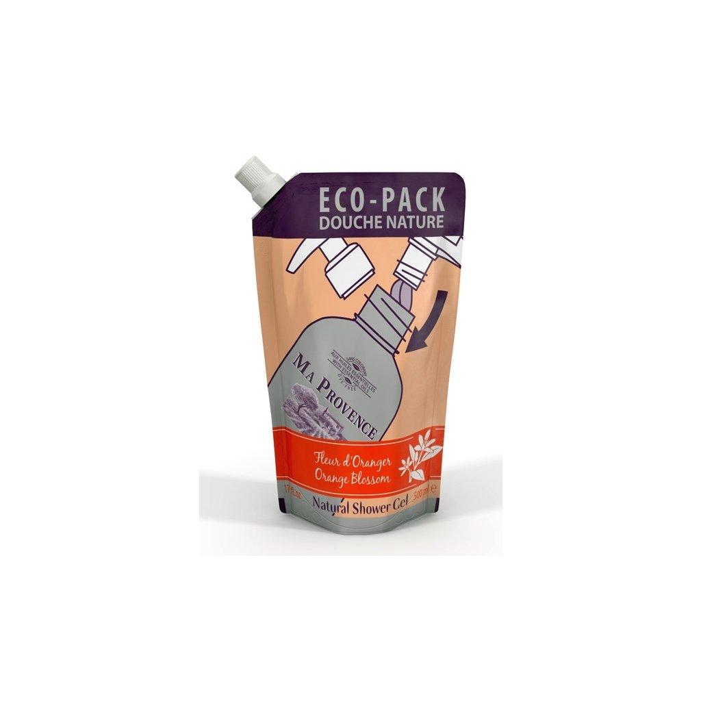 Recharge gels douche 500ml avec bouchon ORANGER