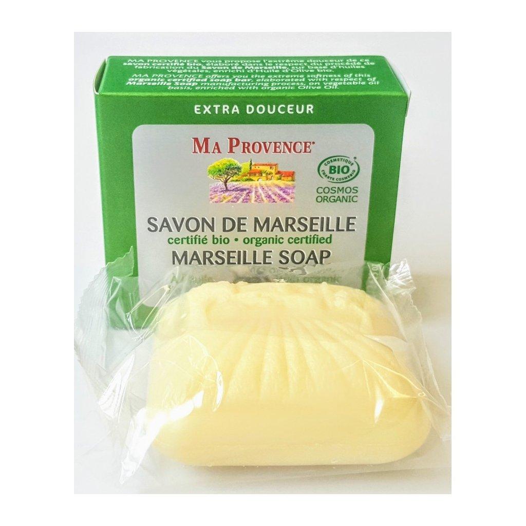Tuhé BIO Mýdlo Ma Provence s olivovým olejem, 75g