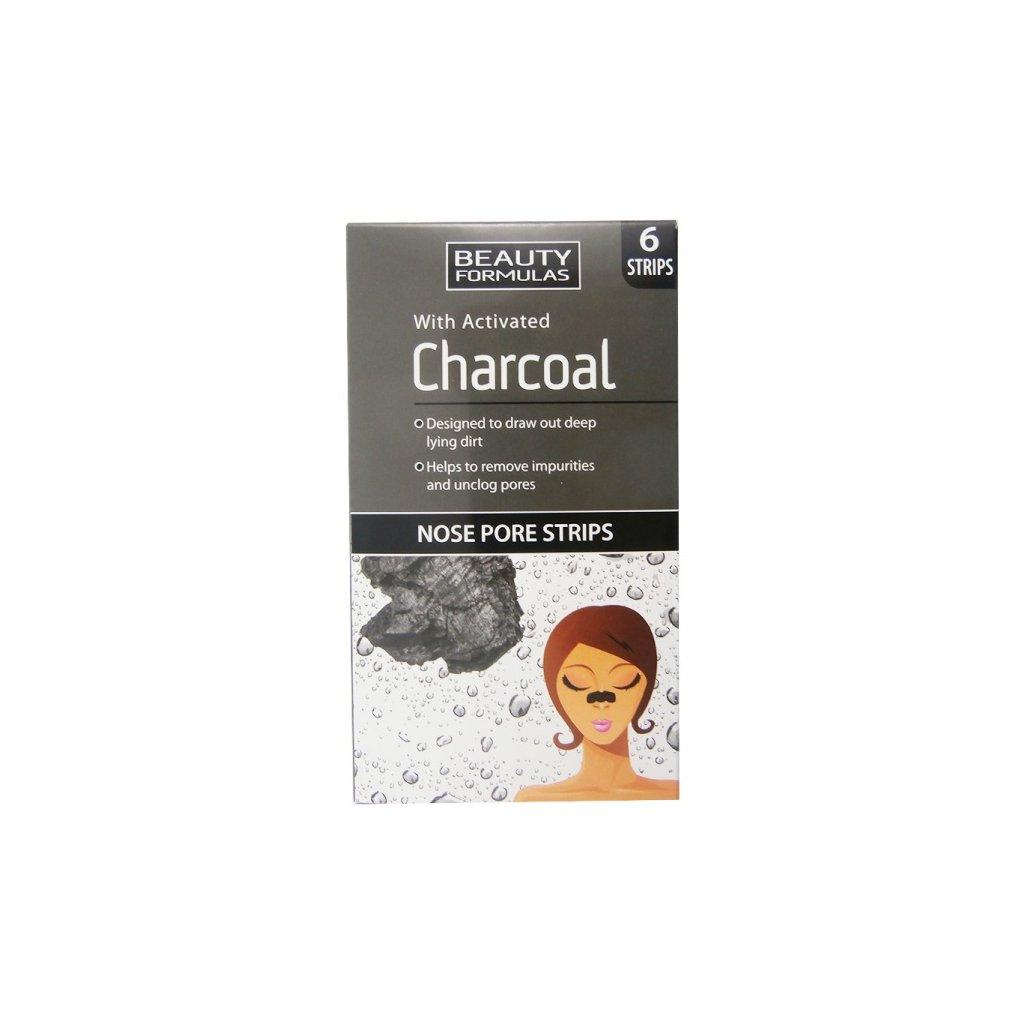 Čistící pásky na nos s Aktivním uhlím Charcoal